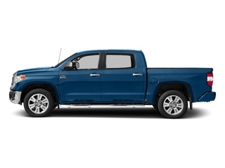 Blazing Blue Pearl 2017 Toyota Tundra 2WD Pictures Tundra 2WD 1794 Edition CrewMax 2WD photos side view