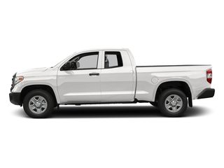 Super White 2017 Toyota Tundra 2WD Pictures Tundra 2WD SR Double Cab 2WD photos side view