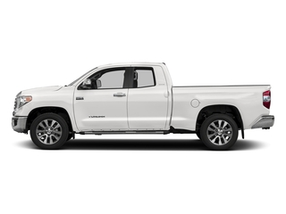 Super White 2017 Toyota Tundra 2WD Pictures Tundra 2WD Limited Double Cab 2WD photos side view
