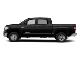 Black 2017 Toyota Tundra 4WD Pictures Tundra 4WD SR5 CrewMax 4WD photos side view