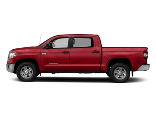Barcelona Red Metallic 2017 Toyota Tundra 2WD Pictures Tundra 2WD SR5 CrewMax 2WD photos side view