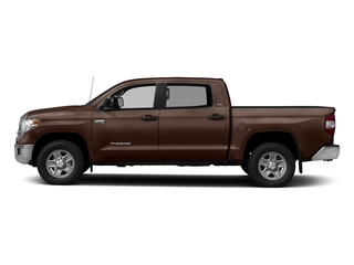 Sunset Bronze Mica 2017 Toyota Tundra 2WD Pictures Tundra 2WD SR5 CrewMax 2WD photos side view