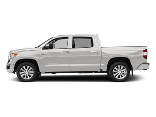 Super White 2017 Toyota Tundra 4WD Pictures Tundra 4WD Limited CrewMax 4WD photos side view