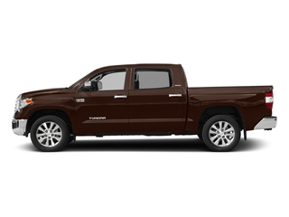 Sunset Bronze Mica 2017 Toyota Tundra 4WD Pictures Tundra 4WD Limited CrewMax 4WD photos side view