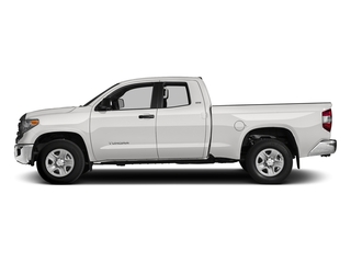Super White 2017 Toyota Tundra 2WD Pictures Tundra 2WD SR5 Double Cab 2WD photos side view