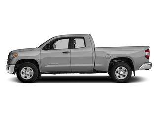 Silver Sky Metallic 2017 Toyota Tundra 2WD Pictures Tundra 2WD SR5 Double Cab 2WD photos side view