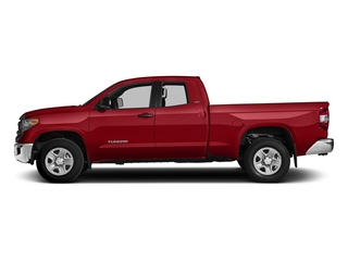 Barcelona Red Metallic 2017 Toyota Tundra 2WD Pictures Tundra 2WD SR5 Double Cab 2WD photos side view