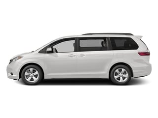 Super White 2017 Toyota Sienna Pictures Sienna Wagon 5D LE AWD V6 photos side view