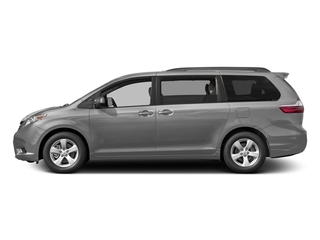 Silver Sky Metallic 2017 Toyota Sienna Pictures Sienna Wagon 5D LE AWD V6 photos side view