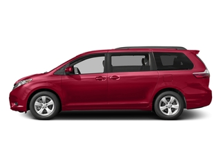 Salsa Red Pearl 2017 Toyota Sienna Pictures Sienna Wagon 5D LE AWD V6 photos side view