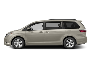 Creme Brulee Mica 2017 Toyota Sienna Pictures Sienna Wagon 5D LE AWD V6 photos side view