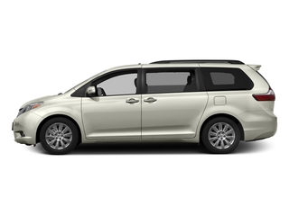 Blizzard Pearl 2017 Toyota Sienna Pictures Sienna Wagon 5D XLE V6 photos side view