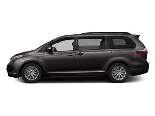 Predawn Gray Mica 2017 Toyota Sienna Pictures Sienna Wagon 5D XLE V6 photos side view