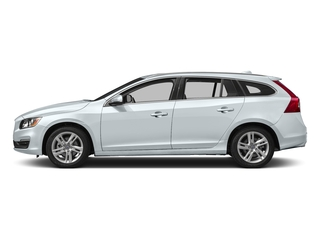 Ice White 2017 Volvo V60 Pictures V60 Wagon 4D T5 Platinum AWD Turbo photos side view