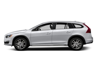 Ice White 2017 Volvo V60 Cross Country Pictures V60 Cross Country Wagon 5D T5 Platinum AWD I4 Turbo photos side view