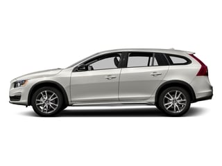Crystal White Pearl 2017 Volvo V60 Cross Country Pictures V60 Cross Country Wagon 5D T5 Platinum AWD I4 Turbo photos side view