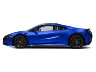 Nouvelle Blue Pearl 2018 Acura NSX Pictures NSX Coupe 2D AWD Hybrid Turbo photos side view