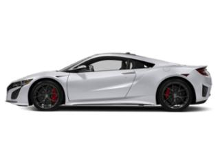 Casino White Pearl 2018 Acura NSX Pictures NSX Coupe 2D AWD Hybrid Turbo photos side view