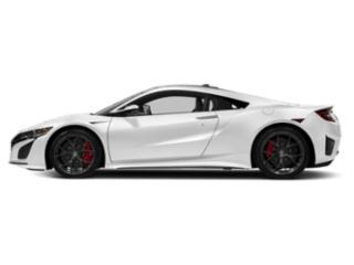 130R White 2018 Acura NSX Pictures NSX Coupe 2D AWD Hybrid Turbo photos side view