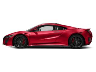 Valencia Red Pearl 2018 Acura NSX Pictures NSX Coupe 2D AWD Hybrid Turbo photos side view