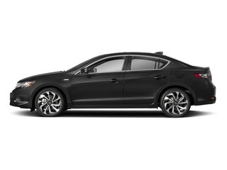 Crystal Black Pearl 2018 Acura ILX Pictures ILX Sedan w/Premium/A-SPEC Pkg photos side view