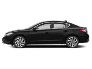 Crystal Black Pearl 2018 Acura ILX Pictures ILX Special Edition Sedan photos side view