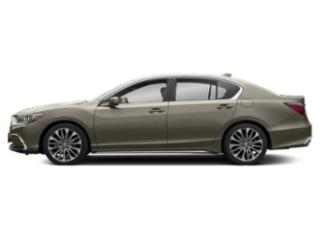 Gilded Pewter Metallic 2018 Acura RLX Pictures RLX Sedan 4D photos side view