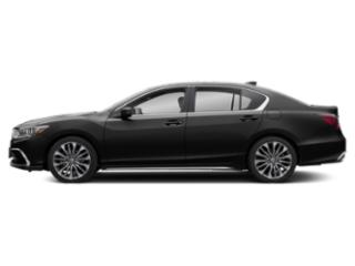 Majestic Black Pearl 2018 Acura RLX Pictures RLX Sedan 4D photos side view