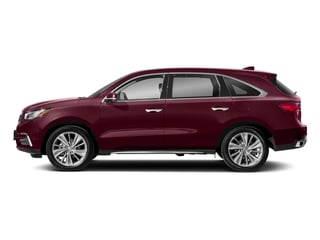 Basque Red Pearl II 2018 Acura MDX Pictures MDX Utility 4D Technology DVD 2WD photos side view