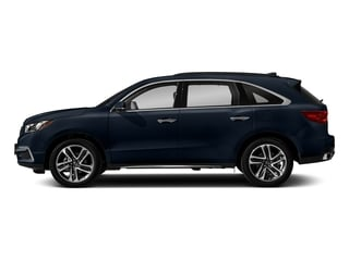 Fathom Blue Pearl 2018 Acura MDX Pictures MDX FWD w/Advance Pkg photos side view