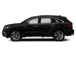 Crystal Black Pearl 2018 Acura MDX Pictures MDX FWD w/Advance Pkg photos side view