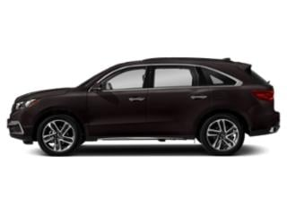 Black Copper Pearl 2018 Acura MDX Pictures MDX FWD w/Advance Pkg photos side view