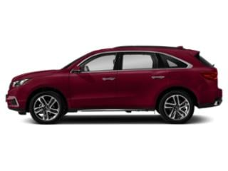San Marino Red 2018 Acura MDX Pictures MDX FWD w/Advance Pkg photos side view