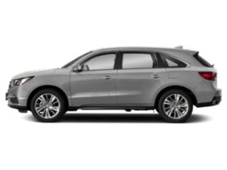 Lunar Silver Metallic 2018 Acura MDX Pictures MDX FWD w/Technology Pkg photos side view