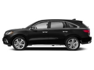 Crystal Black Pearl 2018 Acura MDX Pictures MDX Utility 4D Technology DVD 2WD photos side view