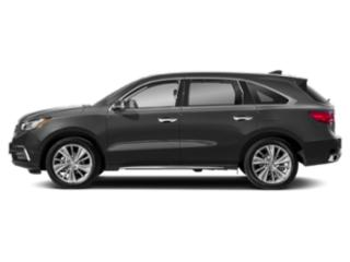 Modern Steel Metallic 2018 Acura MDX Pictures MDX Utility 4D Technology DVD 2WD photos side view