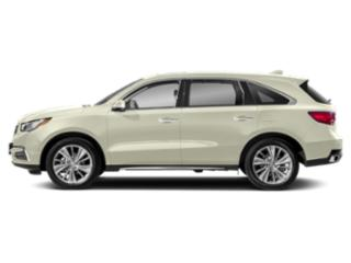 White Diamond Pearl 2018 Acura MDX Pictures MDX Utility 4D Technology DVD 2WD photos side view