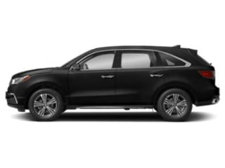 Crystal Black Pearl 2018 Acura MDX Pictures MDX Utility 4D 2WD photos side view