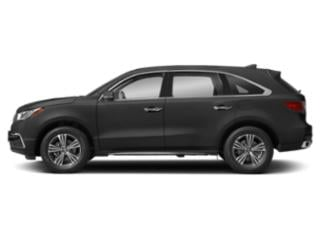 Modern Steel Metallic 2018 Acura MDX Pictures MDX Utility 4D 2WD photos side view