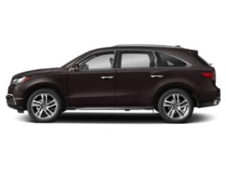 Black Copper Pearl 2018 Acura MDX Pictures MDX SH-AWD w/Advance Pkg photos side view