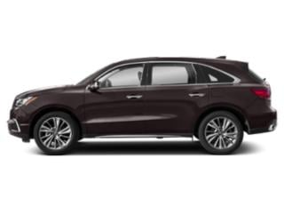 Black Copper Pearl 2018 Acura MDX Pictures MDX SH-AWD w/Technology Pkg photos side view