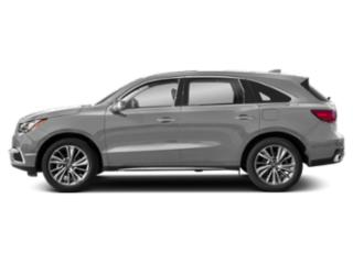 Lunar Silver Metallic 2018 Acura MDX Pictures MDX SH-AWD w/Technology Pkg photos side view