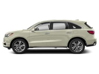 White Diamond Pearl 2018 Acura MDX Pictures MDX SH-AWD w/Technology Pkg photos side view