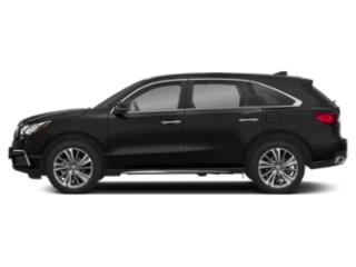 Crystal Black Pearl 2018 Acura MDX Pictures MDX SH-AWD w/Technology/Entertainment Pkg photos side view