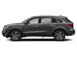 Modern Steel Metallic 2018 Acura MDX Pictures MDX Utility 4D AWD photos side view