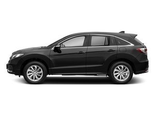 Crystal Black Pearl 2018 Acura RDX Pictures RDX AWD w/Technology Pkg photos side view