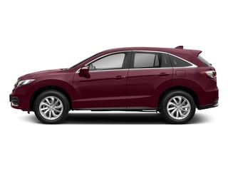Basque Red Pearl II 2018 Acura RDX Pictures RDX Utility 4D Technology AWD V6 photos side view