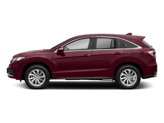 Basque Red Pearl II 2018 Acura RDX Pictures RDX AWD w/Technology Pkg photos side view