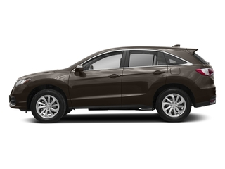 Kona Coffee Metallic 2018 Acura RDX Pictures RDX Utility 4D Technology 2WD V6 photos side view