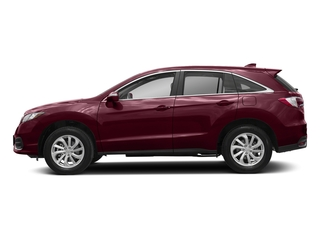 Basque Red Pearl II 2018 Acura RDX Pictures RDX Utility 4D Technology 2WD V6 photos side view
